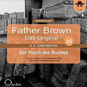 Der Fluch des Buches (Father Brown - Das Original 45) Hörbuch