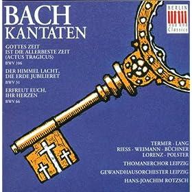 Der Himmel lacht, die Erde jubilieret, BWV 31: No. 7, Weil denn das Haupt sein Glied