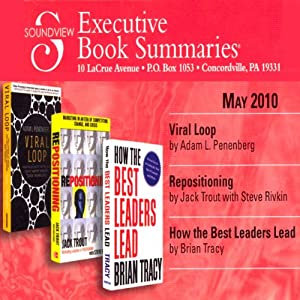 Soundview Executive Book Summaries, May 2010 | [Brian Tracy, Steve Rivkin, Jack Trout, Adam L. Penenberg]