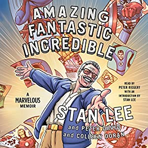 Amazing Fantastic Incredible Audiobook