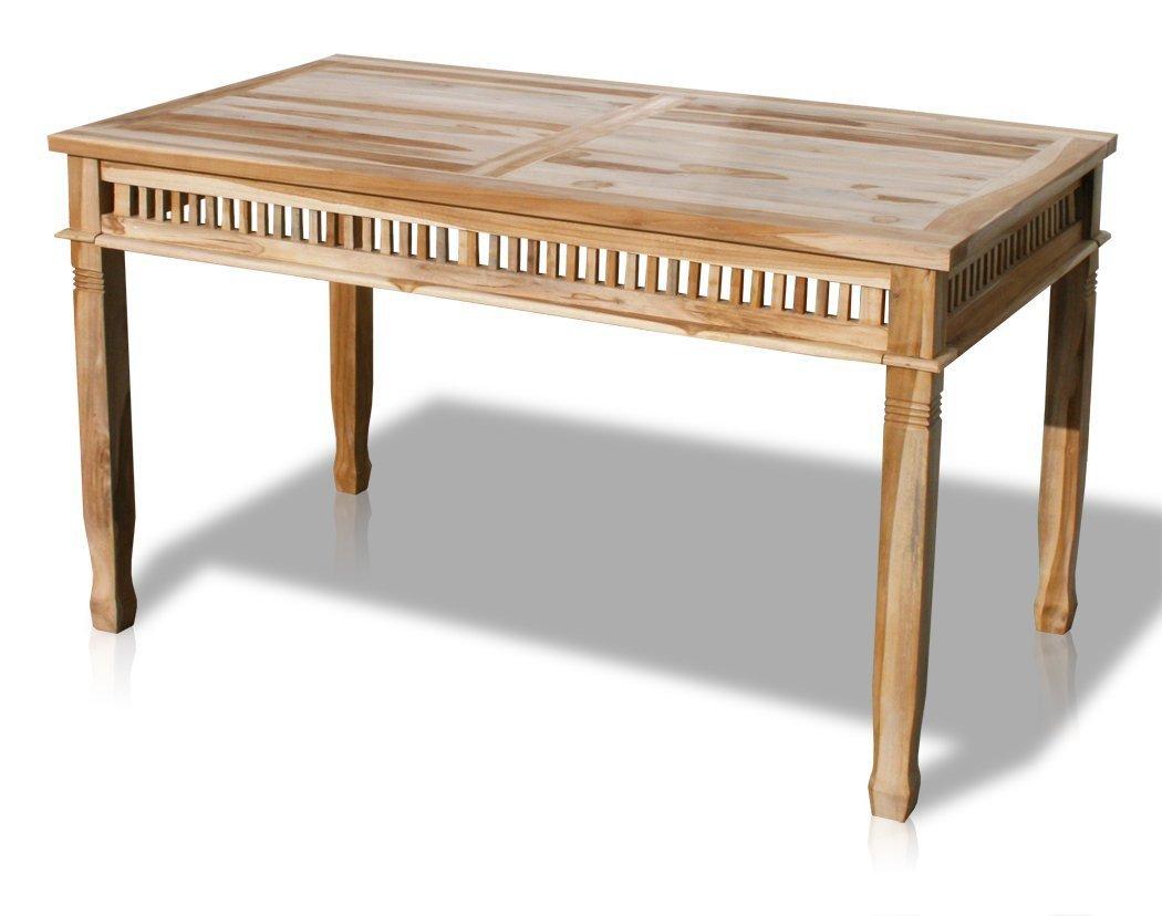 """KMH®, Gartentisch """"Colonial"""" (140 x 80 cm / ECHT TEAK) (#102055) kaufen"""