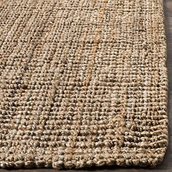 Safavieh Natural Fiber Collection NF447A Hand Woven Natural Jute Area Rug (8 x 10)