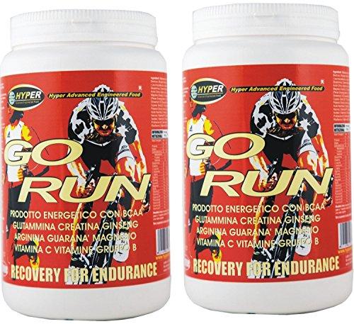 2 box Integratori Ciclismo potente energetico con Creatina Glutammina Taurina BCAA Arginina Vitamine