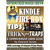 Kindle Fire HDX Tips, Tricks and Traps: A How-To Tutorial for the Kindle Fire HDX by Edward Jones  (Oct 20, 2013)