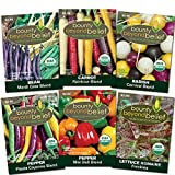 Search : Festive Organic Heirloom Blends/ 6 pack - Have Fun Adding Some Color to Your Veggie Garden!!!