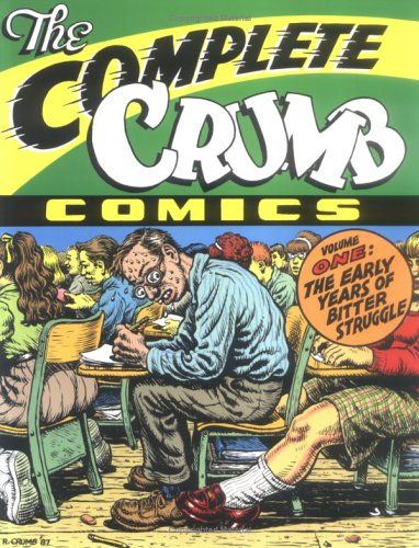 "Cover image of ""The Complete Crumb"" by R. Crumb"
