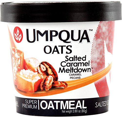 Umpqua Oats Salted Caramel Meltdown Super Premium Oatmeal, 12 Count