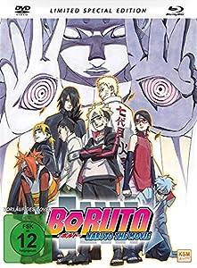 Boruto - Naruto The Movie (2015) Mediabook [DVD+ BD mit integriertem Booklet + Bonus Postkarte] [Blu-ray]