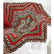 Herrschners Starpoint Christmas Round Crochet Afghan Kit