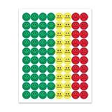 Hygloss Behavior Sticker Set, 1/2 Inch Each, Pack of 320 Stickers