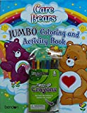 Bundle (C) Care Bears 64 Page Coloring and Activity Book Plus 1 Pack of 6 Twist-Up Crayons