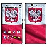 """atFoliX Designfolie """"Polen Flagge"""" f�r Sony Xperia Z - ohne Displayschutzfolievon """"Designfolien@FoliX"""""""