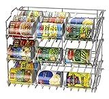 NEW 36 Can Rack Holder Organizer Storage Kitchen Shelf Food Pantry Cabinet Cupboard
