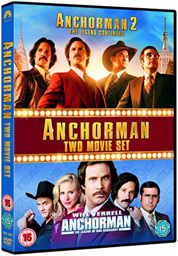 Anchorman 1&2 [Edizione: Regno Unito]