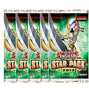 Yu-Gi-Oh! Star Pack 2013 Lot of 5 Booster Pack