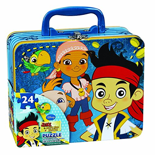 Jake and the Neverland Pirates Puzzle Tin / Lunch tin - 1