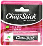 Chapstick Classic Lip Balm Spf 4, Cherry, 0.15-Ounce Sticks (Pack Of 24)