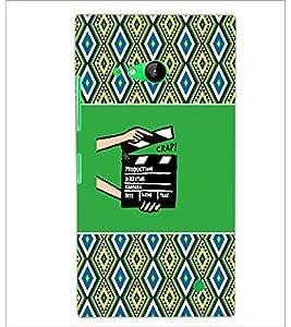 PrintDhaba Film D-4678 Back Case Cover for NOKIA LUMIA 730 (Multi-Coloured)