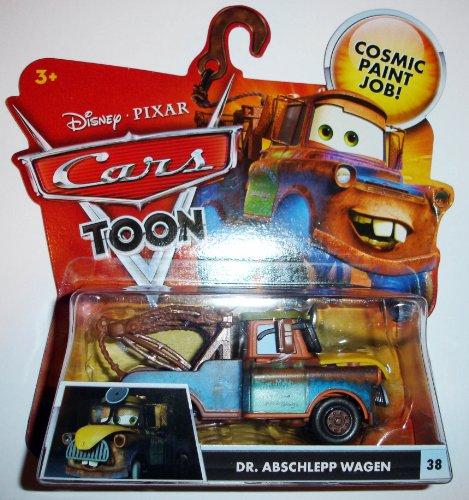 Disney / Pixar CARS TOON 155 Die Cast Car Dr. Abschlepp Wagen - 1