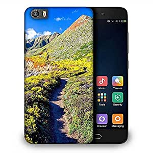 Snoogg Pathway In The Mountain Designer Protective Phone Back Case Cover For Samsung Galaxy J1