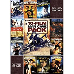 10-Movie Man Cave Action/Martial Arts Pack
