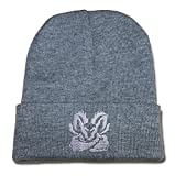 DEBANG Dodge Ram Logo Beanie Embroidery Knitted Hat Skull Cap