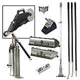 Drywall Master Professional Finishing Tool Set Plus FREE Delko ZUNDER Banjo Taper - 10