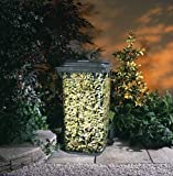 Brilliant Wheelie Bin Cover Camouflage Sticker In an Attractive Pyracantha Design