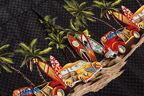 Palm Wave Men's Hawaiian Shirt Aloha Shirt 6