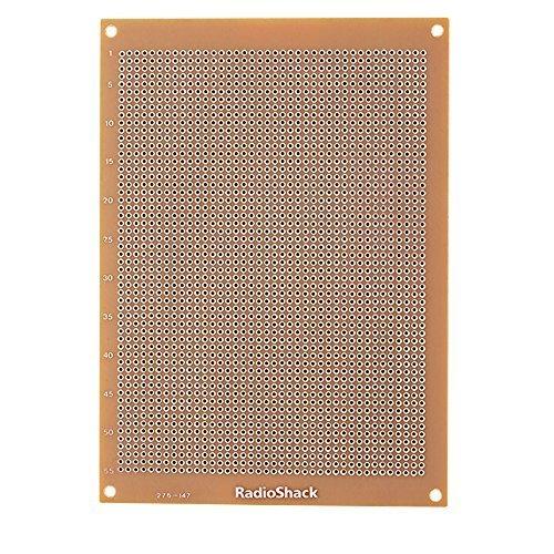 radioshack-grid-style-board-with-2200-holes-printed-circuit-board-by-radioshack
