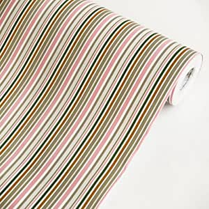 Colorful stripes vinyl self adhesive wallpaper prepasted for Pre adhesive wallpaper