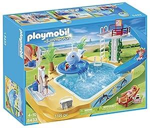 Playmobil 5433 figurine famille avec piscine et for Playmobil 5433 famille avec piscine et plongeoir