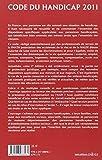 Image de Code du handicap 2011 - 2e éd.: Codes pratiques