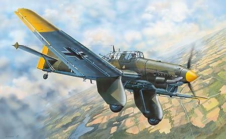 Maquette Avion Militaire : Junkers JU-87A Stuka