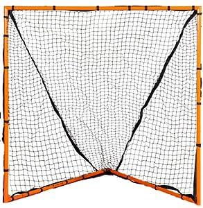 Buy Champion Sports Backyard 4'x4' Lacrosse Goal (Orange) by Champion Sports
