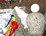 Ieasysexy Lightweight Snowball Maker Snowchuck Snowball Launcher for Christmas Gift Snow Toy (Red)