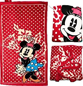 serviette de bain avec son sac a dos en eponge minnie. Black Bedroom Furniture Sets. Home Design Ideas