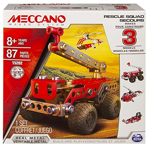 Meccano Multimodels, Rescue Squad 3 Model Set