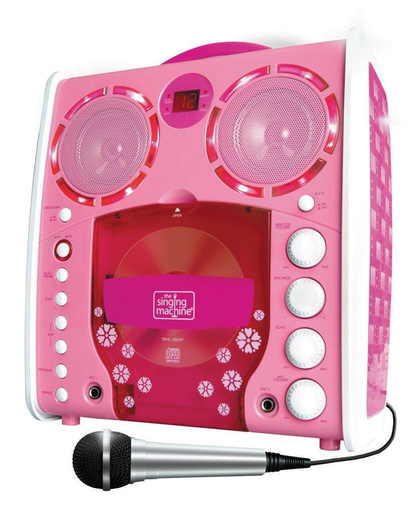 pink singing machine