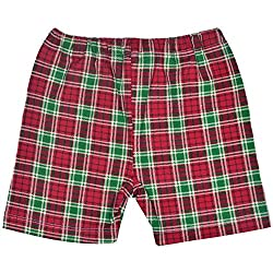 Rute Scottish Checks Knit Shorts