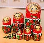 Large Russian nesting Dolls Set of 10...