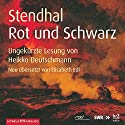Rot und Schwarz Hörbuch von  Stendhal Gesprochen von: Heikko Deutschmann