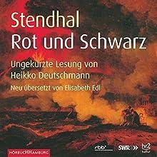 Rot und Schwarz | Livre audio Auteur(s) :  Stendhal Narrateur(s) : Heikko Deutschmann
