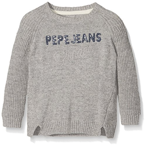 Pepe Jeans Georgia Jr, Felpa Bambina, Grigio (Dk Grey Marl), 12 Anni (Taglia Produttore: 12 Ans )