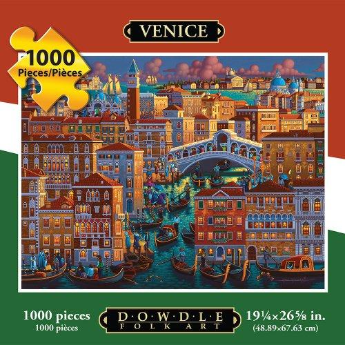 Jigsaw Puzzle - Venice 1000 Pc By Dowdle Folk Art
