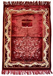 Islamic Prayer Rugs Made in Turkey with Fine Velvet Superior Quality