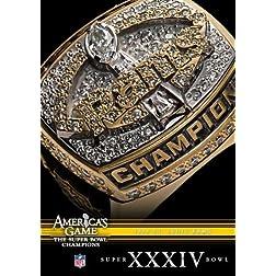 NFL America's Game: 1999 RAMS (Super Bowl XXXIV)