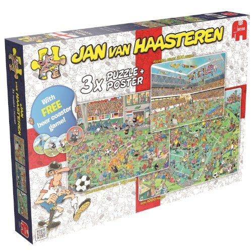 Jan Van Haasteren World Championship Football Jigsaw Puzzles by Jan van Haasteren bestellen
