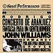 Rodrigo: Concierto de Aranjuez; Fantasia para gentilhombre