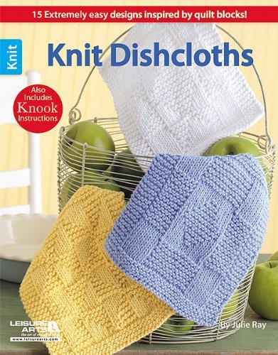 Leisure Arts Knit Dishcloths